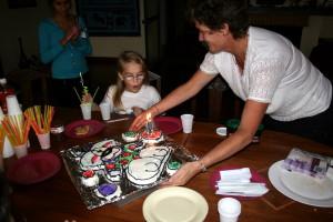 Zach hadde laget Didl-kake